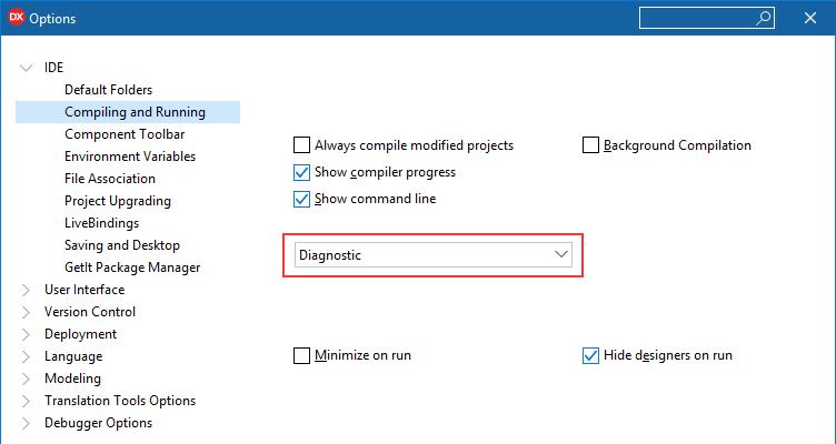 dotNet framework 4 5 required for Delphi 10 3 Rio - Delphi