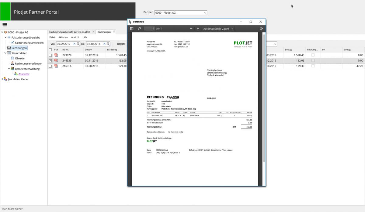 Web dashboard application - Network, Cloud and Web - Delphi-PRAXiS [en]
